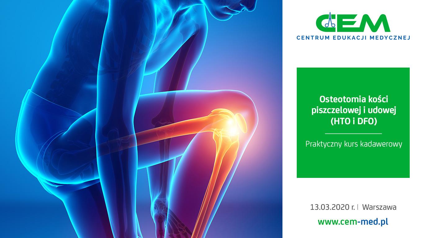 Osteotomia kości piszczelowej i udowej (HTO i DFO)