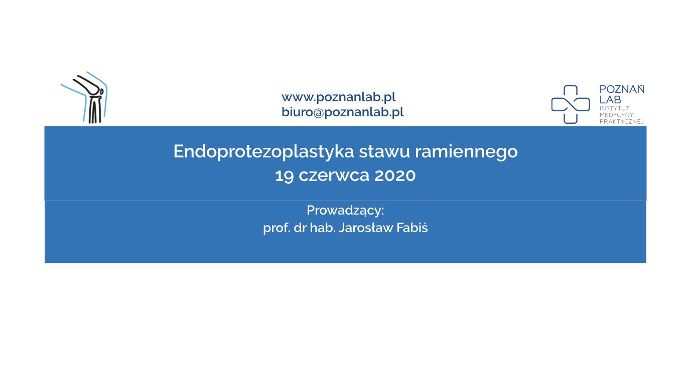 Endoprotezoplastyka stawu ramiennego
