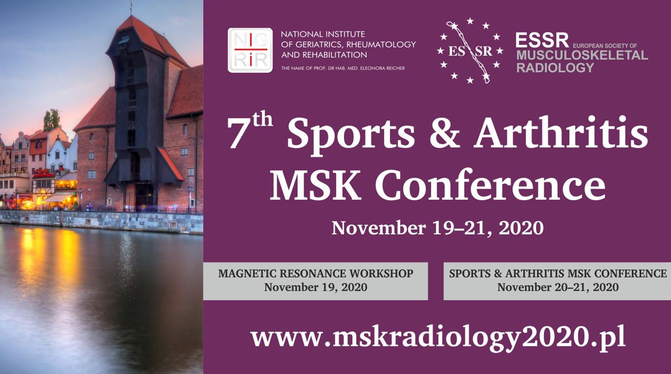 7. konferencja Sports & Arthritis