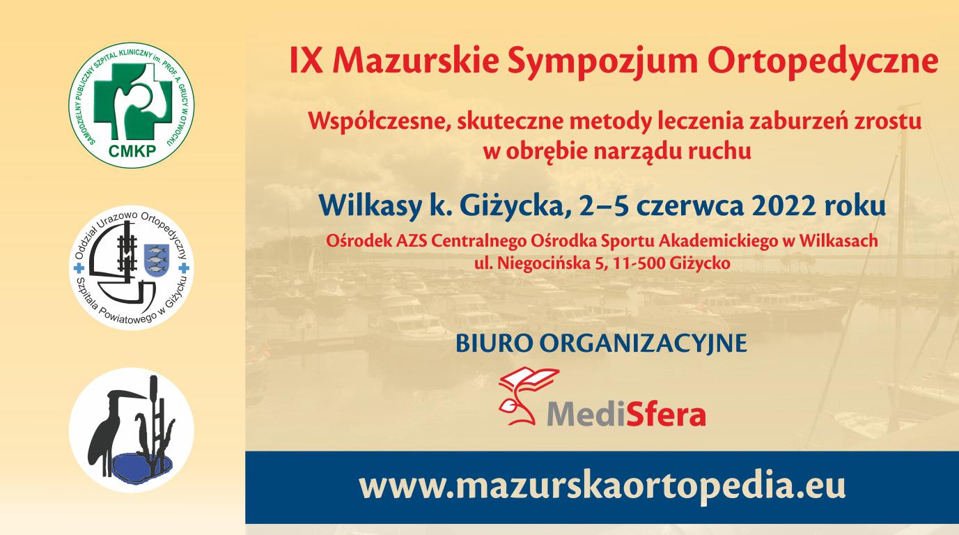 IX Mazurskie Sympozjum Ortopedyczne