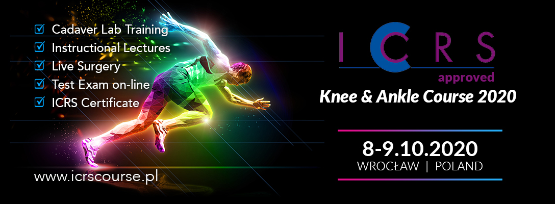ICRS Knee & Ankle Course 2020